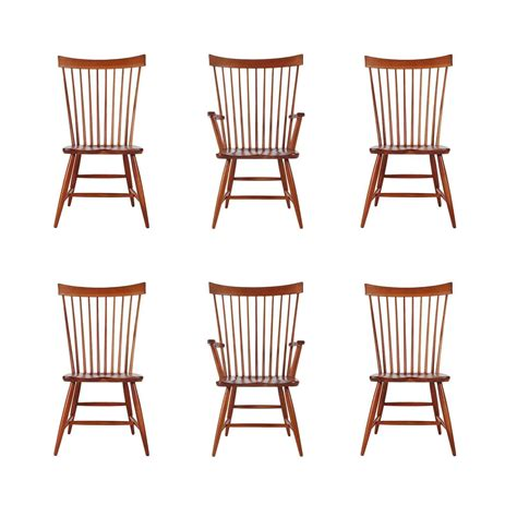windsor dining room chairs set of six mid century modern windsor tall spindle back