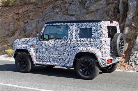rugged vehicles suzuki jimny suv n rugged 4x4 spotted by car magazine