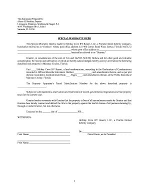 Special Warranty Deed Pa Doc Fill Online Printable Fillable Blank Pdffiller Pennsylvania Deed Template