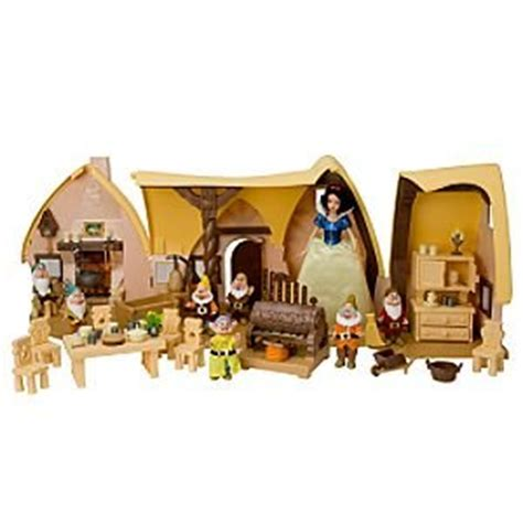 Snow White Cottage Playset snow white and the seven dwarfs cottage play