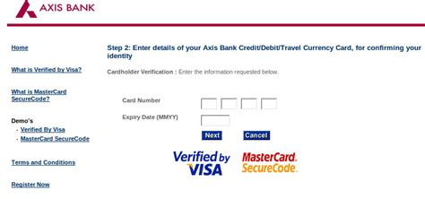 axis bank net banking registration banking axis bank 3d secure pin registration