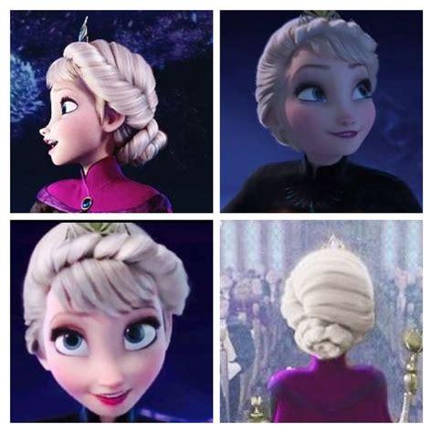 How To Frozen Elsas Coronation Hair   elsa coronation ball hair frozen i love this just as
