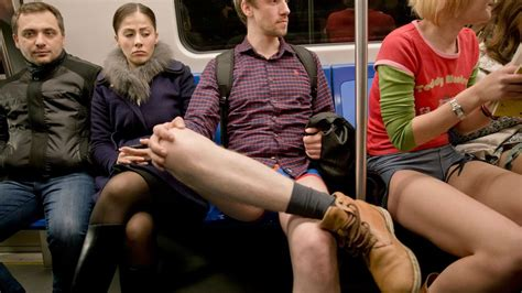 Pantless Where All The by No Subway Ride Takes All The World