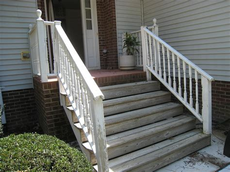 Wooden Front Stairs Design Ideas Wooden Front Porch Step Ideas Brick Pinned By Www Modlar Brick Front Porch