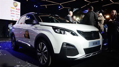 peugeot car of the year peugeot 3008 is 2017 european car of the year