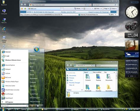 vista theme download for windows 7 themes design with vista windows 7 aero vistagg wmp11 for