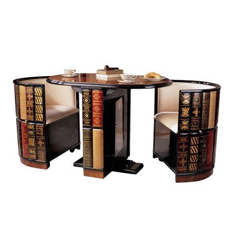 Design Toscano 3 Piece Dining Set & Reviews   Wayfair