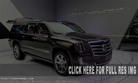 Release Date For 2020 Cadillac Escalade by 2020 Cadillac Escalade Esv Price And Release Date 2019