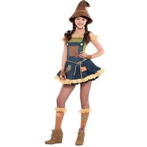 Picture of sweet scarecrow teen costume