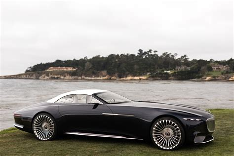 maybach car mercedes benz 2017 monterey the vision mercedes maybach 6 cabriolet