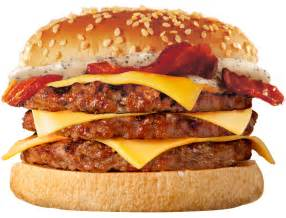 Burgers In Burger King Fast Food Cost