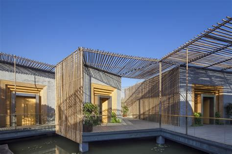 Kerala Home Design 2013 by Tea House Yangzhou Chinese Bamboo Building E Architect