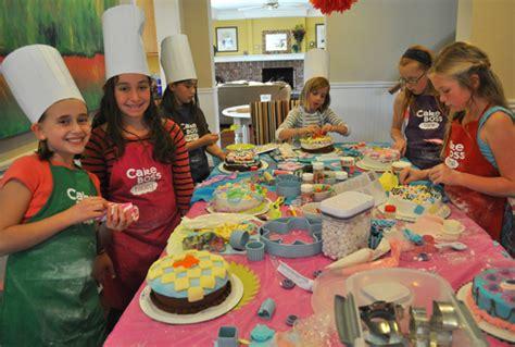 birthday themes for tweens cake boss themed tween birthday party idea
