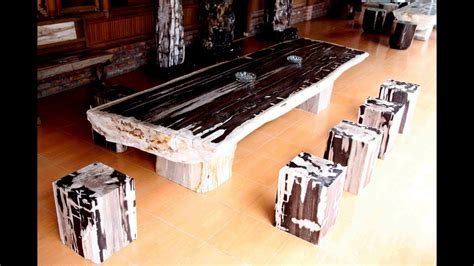 petrified wood dining table petrified wood dining table top
