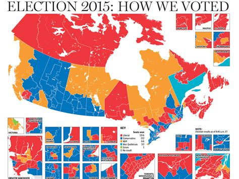 louisiana election map 2015 canadian election results 2015 a by