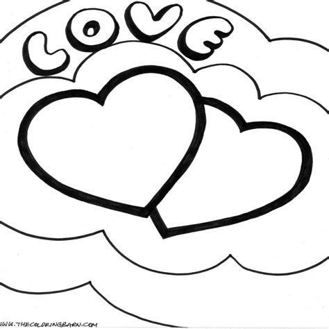 imagenes de amor para imprimir dibujos de corazones de amor para imprimir y pintar