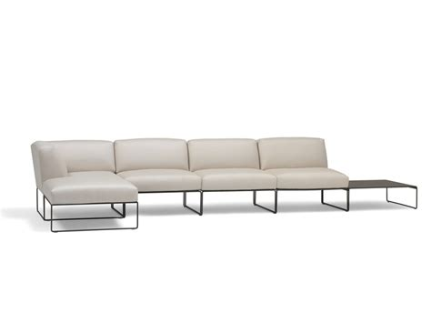 buildable couch siesta sectional sofa by andreu world design lievore