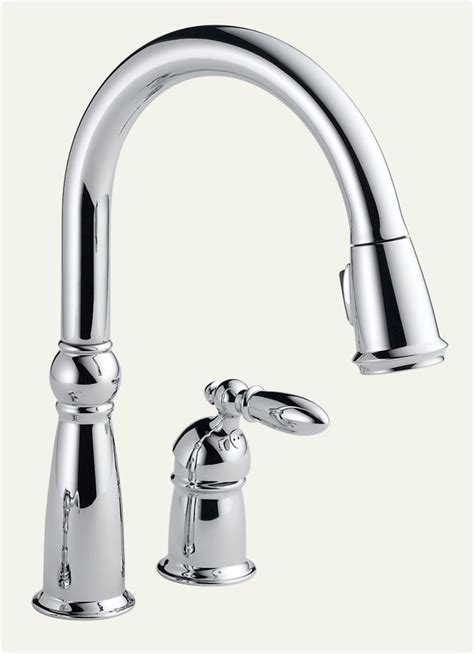 delta touch kitchen faucet delta 955 dst victorian single handle pull down kitchen