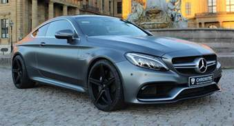 Mercedes C63 Coupe Chrometec Gives Mercedes Amg C63 Coupe A Stylish Makeover