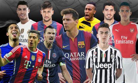 ranking mejores futbolistas 2016 mejores jugadores del mundo del 2016 los mejores