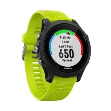 jual garmin forerunner 935 smartwatch yellow lime harga kualitas terjamin blibli