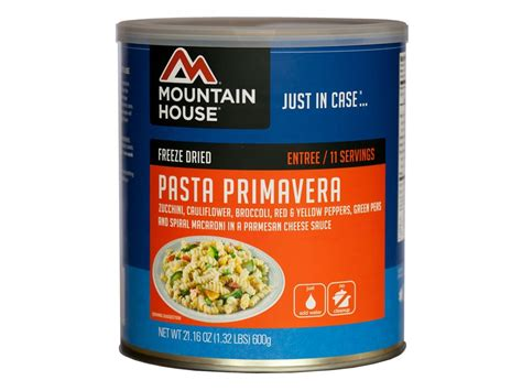 mountain house food sale mountain house pasta primavera freeze dried food 10 can mpn 30137