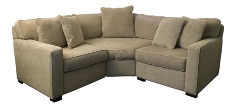 macy s radley apartment sectional sofa chairish