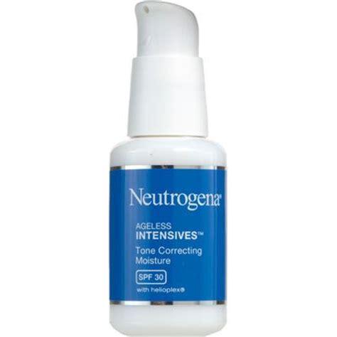 Review Neutrogena Moisture Shoo by Neutrogena Ageless Intensives Tone Correcting Moisture Spf
