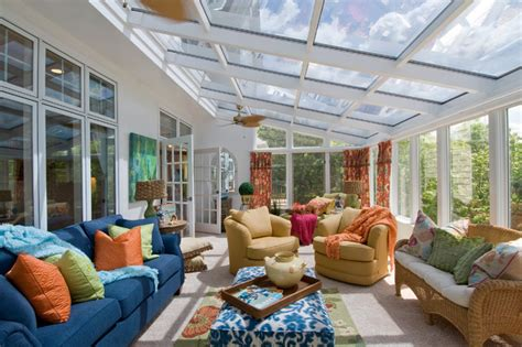 the living room st louis home in st louis traditional sunroom st louis by jml interior design