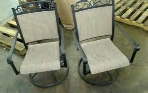 Hton Bay Swivel Patio Chairs Hton Bay Santa Patio Swivel Rocker Chairs 2 Pack