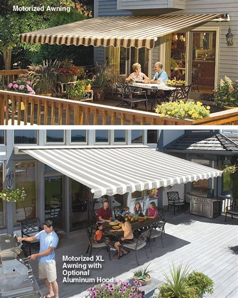 sunsetter patio awnings retractable awnings outside pinterest