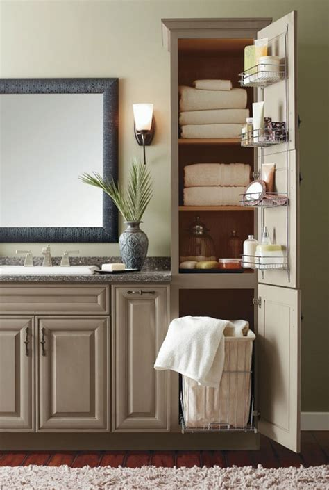 home design lover 20 clever designs of bathroom linen cabinets home design