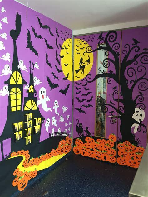 classroom door decoration  halloween halloween