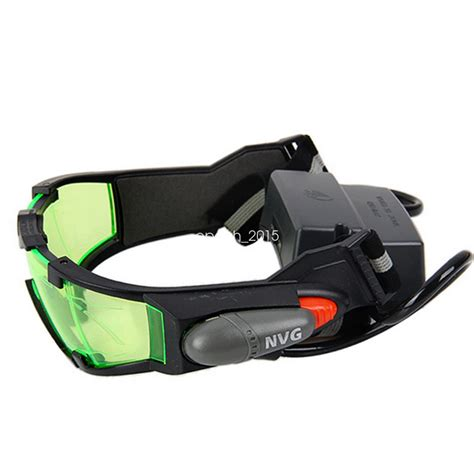 Vision Goggles Survival 1 adjustable vision goggle lighting goggles cing windproof ebay