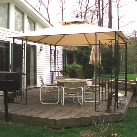 leaf pattern gazebo lucca steel leaf gazebo theleaf co