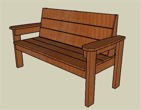 plans for a wooden bench woodwork build wood park bench pdf plans