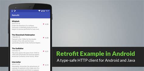 android studio retrofit tutorial android working with retrofit http library