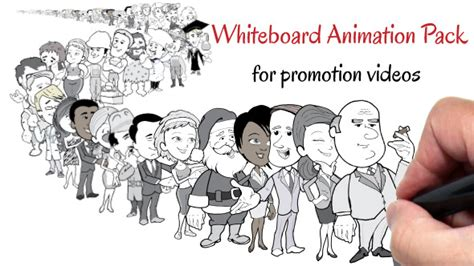 Whiteboard Animation Pack For Promotion Videos 8274524 After Effects Template Naration Animated Whiteboard Animation After Effects Template Free