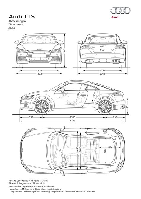 Audi A3 Dimensions 2014 by Audi Cars News 2015 Tt And Tts Unveiled