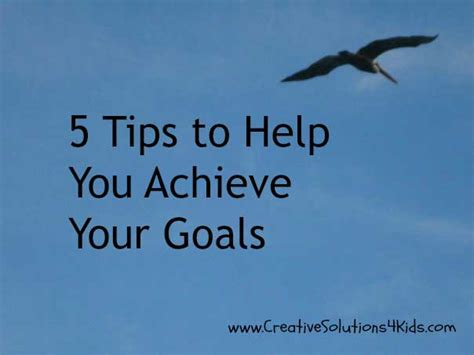 How An Mba Will Help Achieve Work Goals by 5 Tips To Help You Achieve Your Goals
