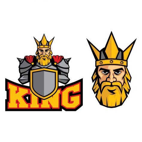 logo king coloured king logo design vector free