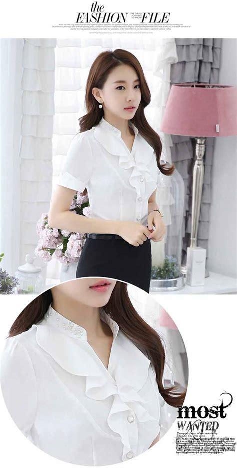 Blouse Wanita Import Floral jual blouse wanita murah collar blouses
