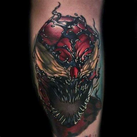 batman venom tattoo 50 carnage tattoo designs for men comic book