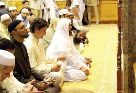 justin trudeau visits mosque with al qaeda ties the true