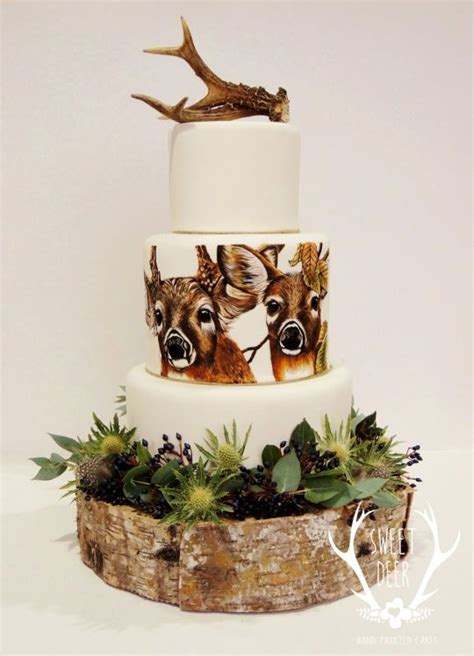 Hochzeitstorte Jagd by 193 Best Images About Cakes On Deer