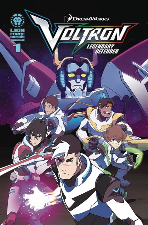 defenders of the white and blue books previewsworld voltron legendary defender 1 of 4