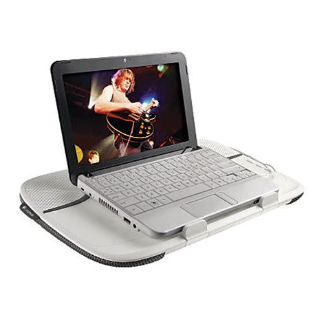 Logitech Laptop Desk Logitech Speaker Desk N550 Gray By Office Depot Officemax