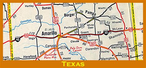 map of texas showing amarillo livaudais bunch