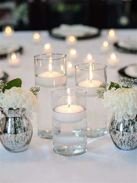Cylinder Vases With Floating Candles And Flowers by 3 Quot Floating Candles And Cylinder Vases Set Of 18