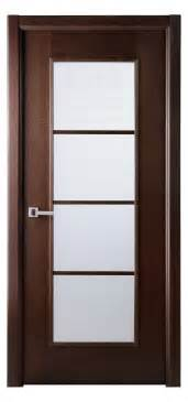 sensational glass panels modern interior doors with brown